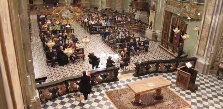 Una vista dall'abside