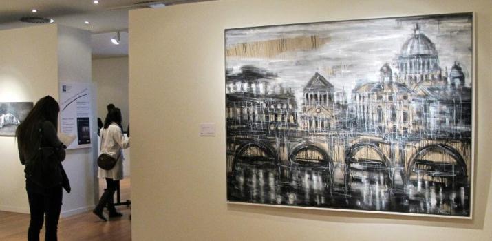 Le opere di Federico Romero Bayter chiudono il percorso espositivo